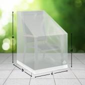 Schutzhülle für eckigen Stuhl